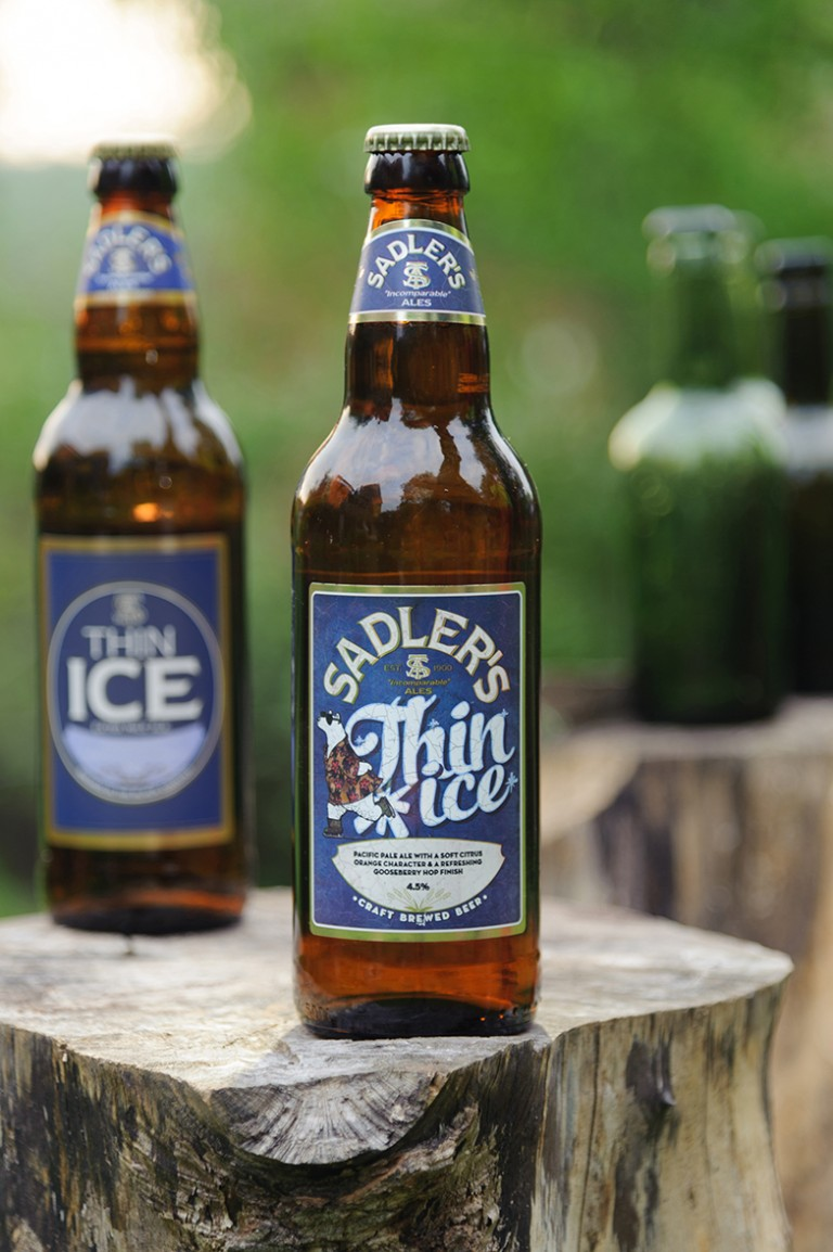 Sadler's Ales Thin Ice