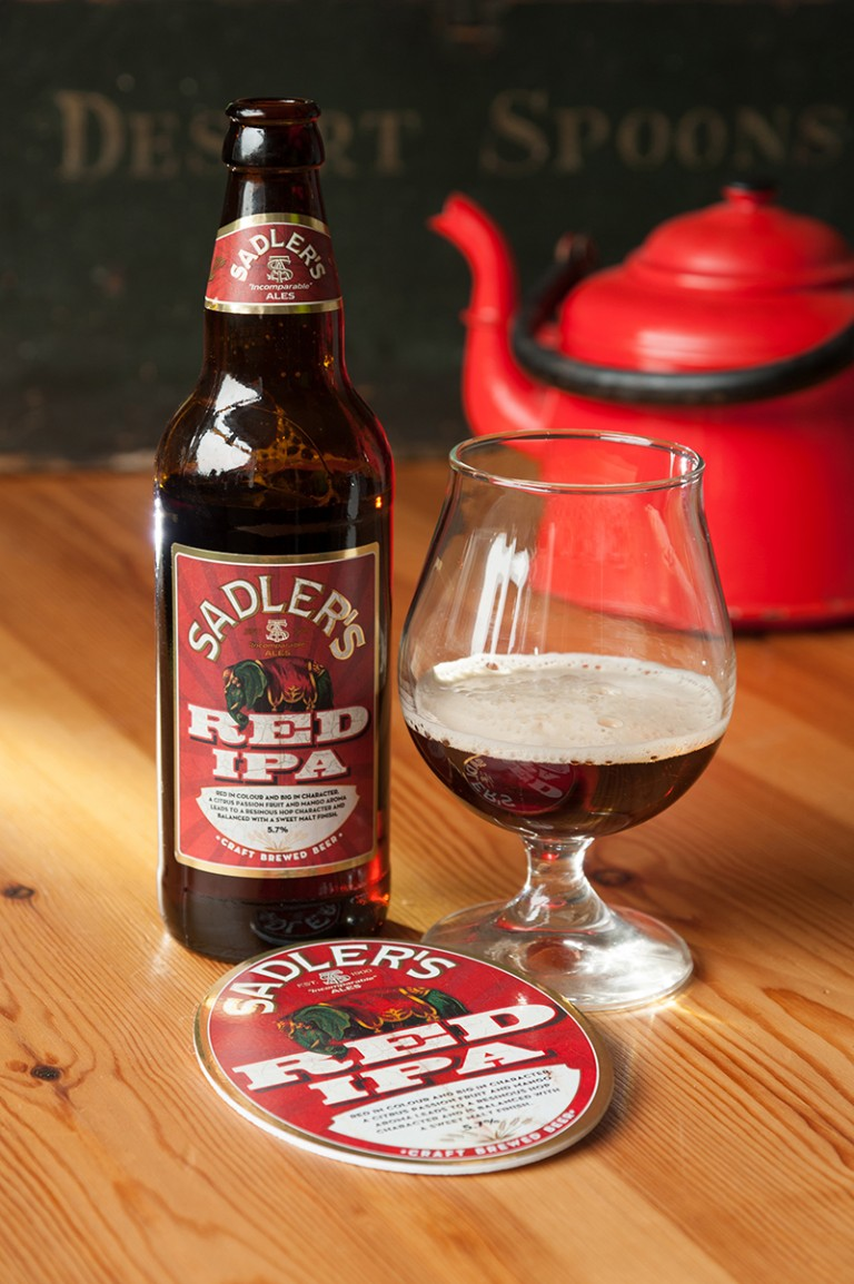 Sadler's Ales Red IPA