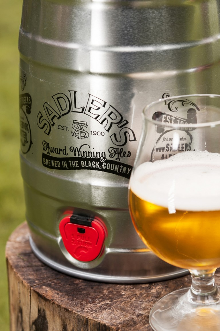 Sadler's Ales 9 pint Mini Keg