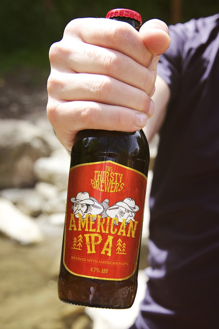 Two Thirsty Brewers American IPA