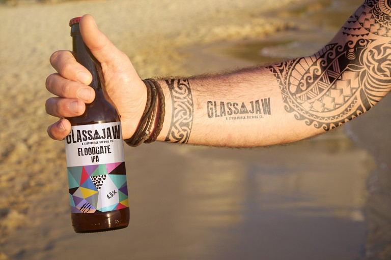 Glass Jaw IPA concept