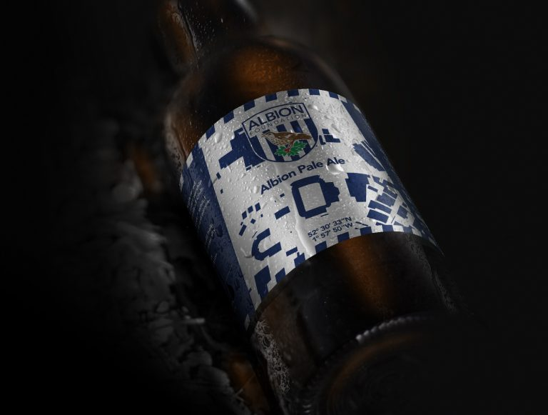 Albion Pale Ale - Discarded concept 1 of 2